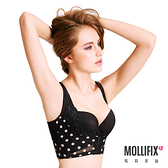 Mollifix瑪莉菲絲 Body偽妝術波波UP短馬甲 (黑加侖)