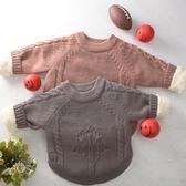 毛衣 2019秋冬新款童裝套頭嬰兒針織衫加絨加厚寶寶毛衣中小男童女童【全館免運】