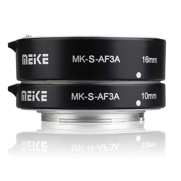 ◎相機專家◎ Meike 美科 MK-S-AF3A SONY 微距 近攝接寫環 A7 NEX A6400 金屬版 公司貨
