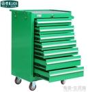 綠色7層 七層手推式維修工具車 零件車 ...