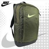 NIKE 後背包 NK VAPOR JET  運動背包 大容量 減壓背帶 塑鋼拉鍊 墨綠 BA5541-395 得意時袋