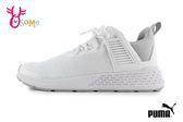 PUMA Insurge Mesh Jr 慢跑鞋 成人女款 大童 透氣 襪套式 運動鞋 J9518#白色◆OSOME奧森鞋業