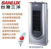 【佳麗寶】-【SANLUX台灣三洋】陶瓷定時電暖器【R-CF625HTA】限量下殺