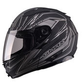 【SOL GMAX GM64 DERK 消光黑銀 可掀 可樂帽 全罩式 安全帽】雙層隱藏墨片、加贈好禮