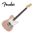 【敦煌樂器】Fender MIJ Hybrid 60S Tele RW FPK 電吉他 粉紅色