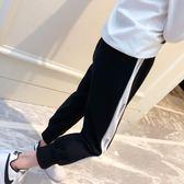 韓版時尚女童運動褲長褲2018春季新款褲子百搭時髦寬鬆休閒褲潮【潮咖地帶】