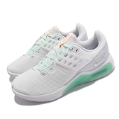Nike 訓練鞋 Wmns Air Max Bella TR 4 白 綠 氣墊 女鞋 【ACS】 CW3398-101