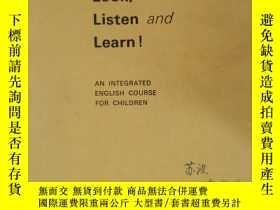二手書博民逛書店英文原版-看聽學2a罕見Look Listen and Lear