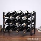 歐式鐵藝紅酒架創意疊加酒架多瓶裝葡萄酒架酒吧創意酒櫃擺件