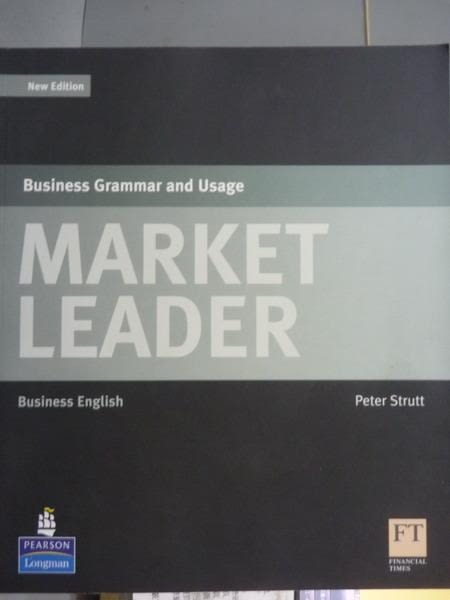 【書寶二手書T3/語言學習_PJO】Market Leader-Business Grammar and Usage_P