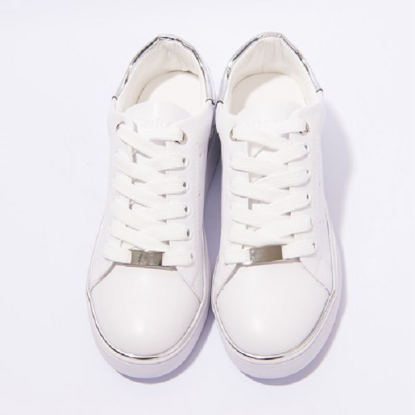 ★2017春夏新品★bellarita.金屬片運動休閒鞋(7406-18白銀)