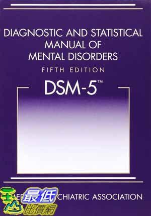 [104美國直購] 2015 美國暢銷書排行榜 Diagnostic and Statistical Manual of Mental Disorders,  DSM-5