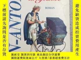 二手書博民逛書店法文原版罕見La nurse anglaise: RomanY1