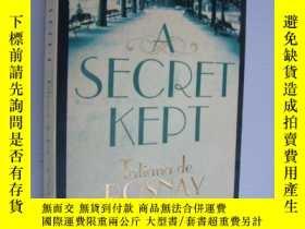 二手書博民逛書店A罕見Secret Kept 英文原版Y146810 Tatia