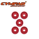 【敦煌樂器】CYMPAD CS15/5R 銅鈸毛氈 紅色五入款