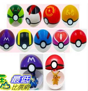 [美國直購] Moonideal 9 Pieces Different Style Ball +9 Pieces Figures Plastic Super Anime Figures Balls 玩具球 _Q07