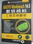 【書寶二手書T1/科學_YDS】ANSYS Workbench 14.5數值模擬工程實例解析_張洪才_簡體書.附光碟
