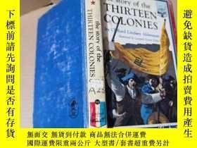 二手書博民逛書店The罕見Story of The Thirteen Colon