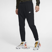 NIKE 長褲 NSW CLUB 基本款 黑 刺繡LOGO 棉褲 男 (布魯克林) BV2672-010