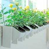 簡綠立體組合植物牆花盆綠陽台室內外背景牆樹脂掛盆簡約壁掛花盆 igo