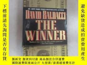 二手書博民逛書店英文書:THE罕見WINNER DAVID BALDACCI 共628頁 32開 詳見圖片Y15969