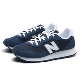 NEW BALANCE 休閒鞋 NB 527 深藍 白LOGO 麂皮 復古 慢跑鞋 男 (布魯克林) ML527SMB