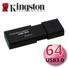 Kingston 金士頓 64G 64GB DataTraveler 100 G3 DT100 USB3.0 隨身碟