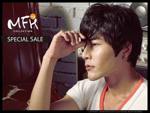 鄭容和束狀蓬鬆髮【L060002】*韓國假髮男生假髮男用假髮◆MFH韓系假髮◆