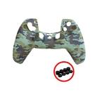 [2玉山網] 副廠 PS5 手柄 保護套 (送4對矽膠搖桿帽) 適用 Sony Playstation 5 遊戲手柄 果凍套 PS周邊 配件