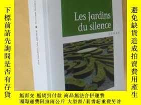 二手書博民逛書店法文原版罕見小說 Les jardins du silence . Monique MoliereY7215