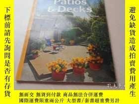 二手書博民逛書店PATIOS罕見& DECKSY20470 SUNSET MAG