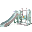 溜滑梯兒童滑滑梯秋千組合小型室內家用游樂園幼兒園寶寶小孩玩具XW 【快速出貨】