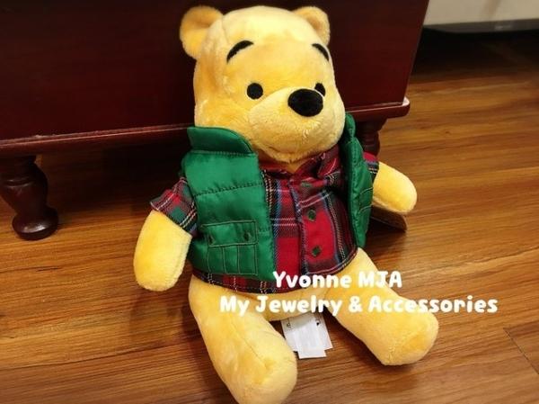 *Yvonne MJA* 美國 迪士尼 Disney 限量 2017 聖誕 精裝版 小熊維尼 娃娃