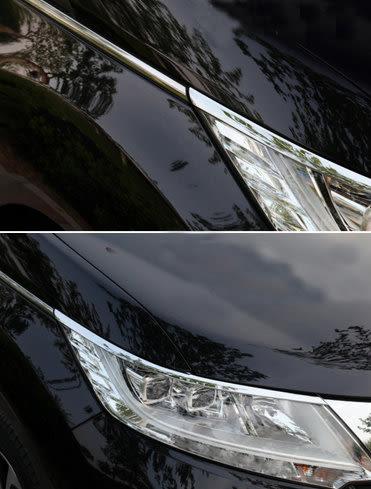 【車王小舖】本田 Honda ODYSSEY 大燈眉 ODYSSEY 大燈框飾條 ODYSSEY 燈眉 燈框飾條