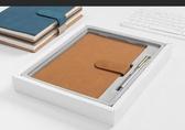 筆記本子記事本文具日記本商務會議記錄本個性創意小清新精緻簡約復古 潮流前線