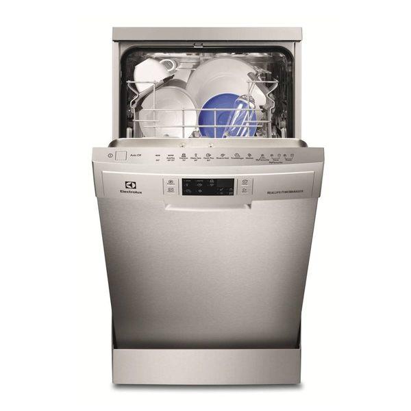 Electrolux 伊萊克斯 ESF4660ROX 獨立式45cm洗碗機(不鏽鋼) 【得意家電】