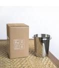 Minos 58mm 磨豆機接粉杯 EK-200磨豆機 義式把手專用 咖啡粉杯 銀色 Minos-EK-58mm-ARG