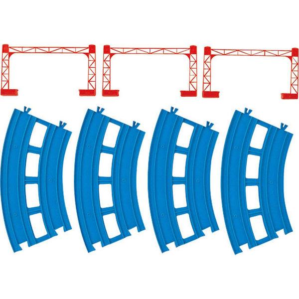 PLARAIL鐵道王國 配件 R-05 複線曲軌