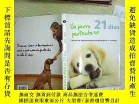 二手書博民逛書店外文書罕見(UN PERRO PERFECTO EN 21)Y2