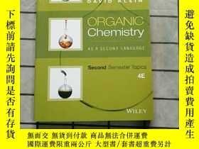 二手書博民逛書店Organic罕見Chemistry as a Second Language: Second Y268220