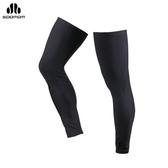 SOOMOM 哥頓腿套(黑)(壓縮腿套 鐵人三項 單車 自行車 免運≡排汗專家≡
