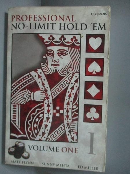 【書寶二手書T8/原文書_MIX】Professional No-Limit Hold 'em_Flynn, Matt/