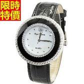 鑽錶-新款大方嚴選女腕錶3色5j111[巴黎精品]