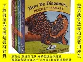 二手書博民逛書店英文原版罕見How Do Dinosaurs... Pocket Library 恐龍是怎麽袖Y335736