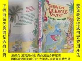 二手書博民逛書店the罕見hippo book of hilarious poetry 滑稽詩的河馬書...Y200392