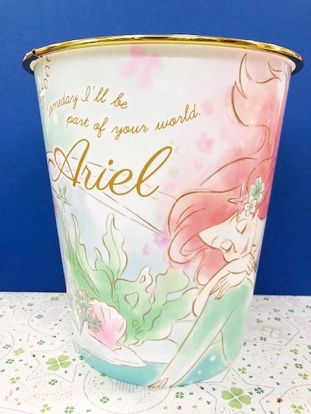 【震撼精品百貨】The Little Mermaid Ariel小美人魚愛麗兒~美人魚塑膠垃圾桶-美人魚#08180