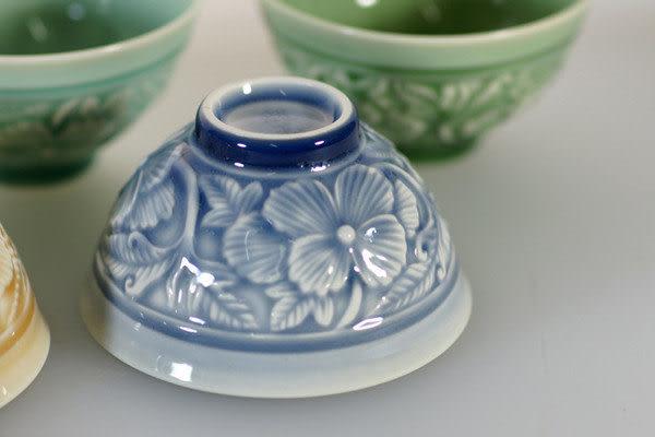 鹿港窯~ 居家開運珍藏~青瓷餐具【青瓷6色碗】◆附精美包裝◆免運費送到家