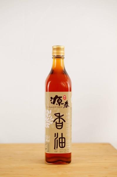 【源春油廠】梅山70年老店 香油 500ml
