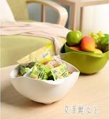 廚房家用北歐風格洗菜籃創意現代果盤客廳水果盤洗菜盆 yu5378【艾菲爾女王】