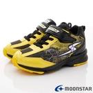 日本Moonstar機能童鞋 3E閃電競速運動鞋款 9646黃(中大童段)